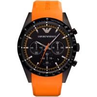 Emporio Armani preto e laranja Ar5987