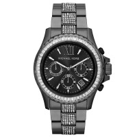 Michael Kors Everest Chronograph Dial Black Mk5829