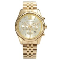 Michael Kors Lexington Dourado - Mk8281