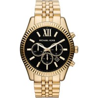 Michael Kors Lexington Dourado e preto - Mk8286